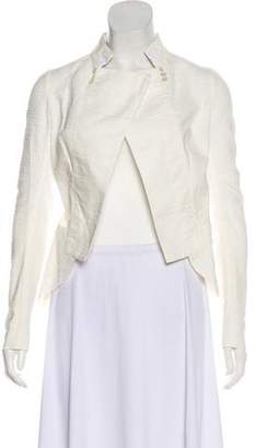 Nina Ricci Textured Long Sleeve Jacket
