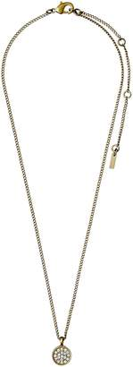 Pilgrim White Grace Gold Plated Necklace