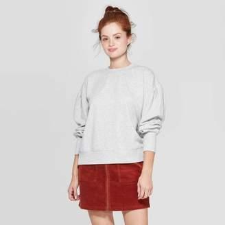 Universal Thread Women's Puff Long Sleeve Crewneck Sweatshirt - Universal ThreadTM