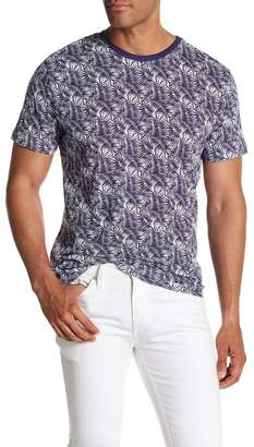 Slate & Stone Printed Knit Short Sleeve Shirt