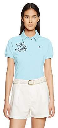 Munsingwear (マンシングウェア) - (マンシングウェア)Munsingwear 半袖シャツ(ニット) JWLJ201 B805サックス L