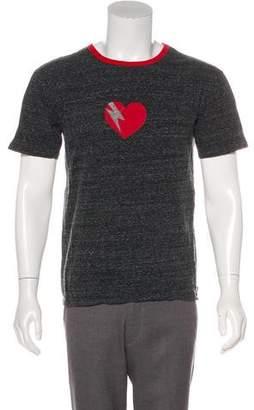Saint Laurent 2017 Short Sleeve Graphic Shirt