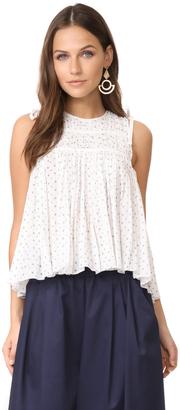 Ulla Johnson June Blouse $207 thestylecure.com