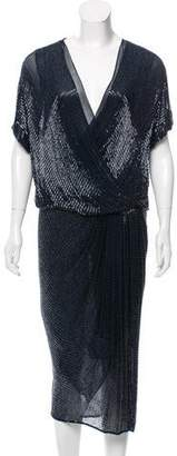 Jason Wu Silk Embellished Dress