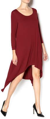 Umgee USA Hi Low Knit Dress