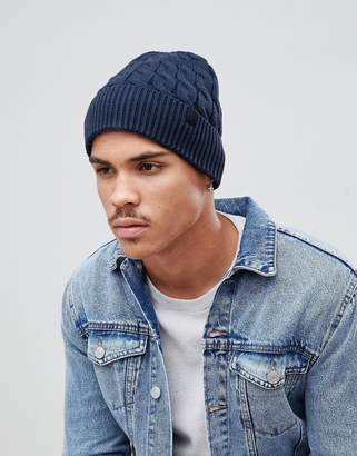 Selected Beanie In Navy