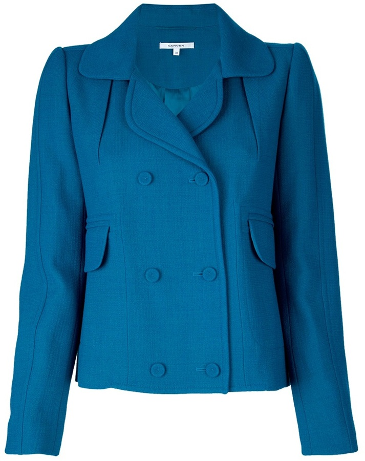 Carven Short pea coat