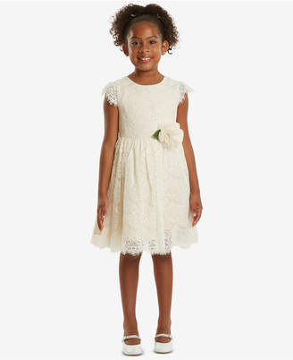 Rare Editions Sequin Lace Dress, Toddler Girls