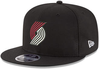New Era Boys' Portland Trail Blazers Basic Link 9FIFTY Snapback Cap