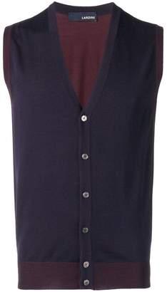 Lardini knitted vest