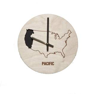 Pacific Time Reed Wilson Design Zone Wall Clock