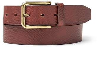 Banana Republic Textured Leather Belt