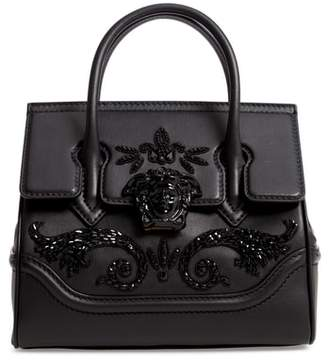 7a71df36b7c7 at Nordstrom · Versace Palazzo Empire Medium Crystal Embellished Leather  Satchel