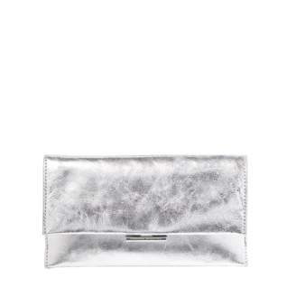 8165e9d0e7d8 Metallic Silver Clutch - ShopStyle