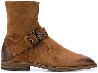 Maison Margiela buckled ankle boots