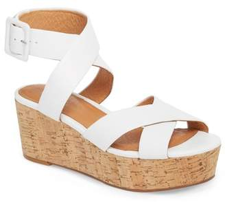 Halogen Evie Platform Wedge Sandal (Women)