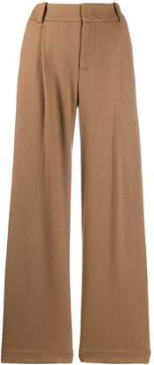 Vince wide-leg knit trousers