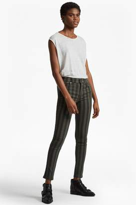 French Connection Stripey Stretch Denim Skinny Jeans