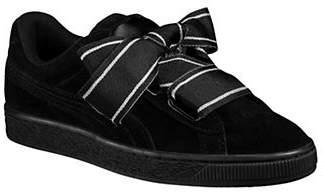 Puma Suede Heart Satin II Sneakers