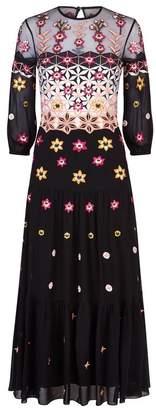 Temperley London Finale Bowtie Midi Dress