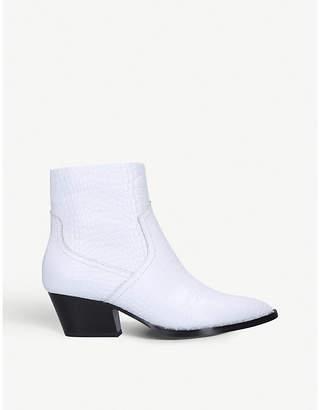 Aldo Agroacia leather heeled ankle boots