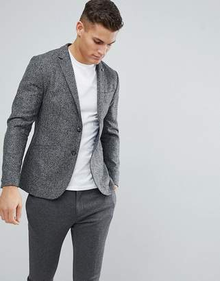 Ted Baker Slim Blazer In Wool Mix