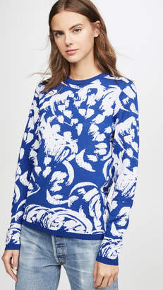Victoria Victoria Beckham Relaxed Crew Neck Sweater