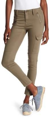 Vigoss Olive Slim Fit Cargo Pants