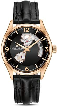 Hamilton Jazzmaster Open Heart Watch, 42mm