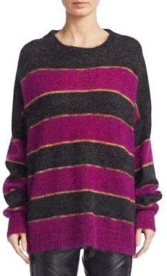 Etoile Isabel Marant Reece Striped Knit Sweater