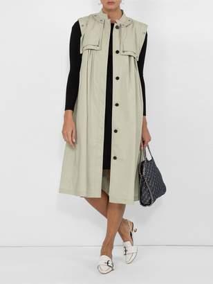 The Row Darta scoop-back midi dress