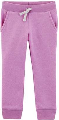 Osh Kosh Oshkosh Bgosh Girls 4-12 Solid Sweatpants