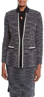 Misook Tweed Knit Jacket