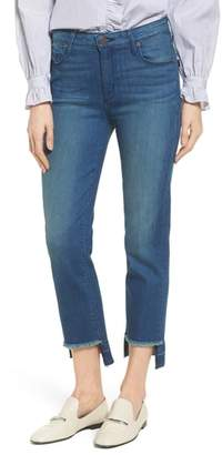 Parker SMITH Pin-Up Straight Leg Crop Jeans