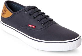 Levi's Navy Monterey Buck Low-Top Sneakers