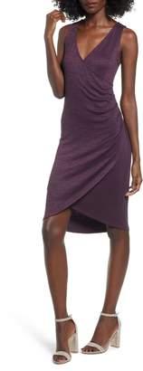 Leith Melange Wrap Dress