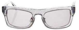 3.1 Phillip Lim Square Tinted Sunglasses
