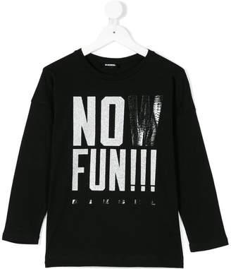 Diesel Now Fun print T-shirt