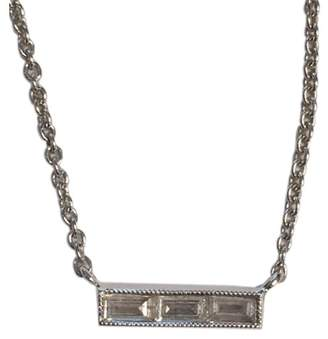 Couture Sethi 18K White Gold Diamond Bar Necklace