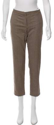 Theo Fennell Virgin Wool-Blend Mid-Rise Pants