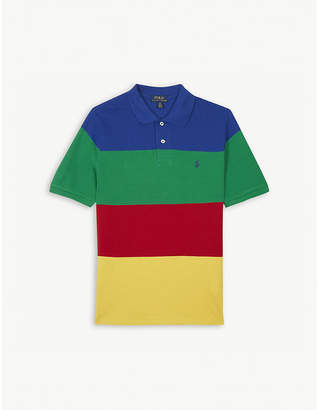 Ralph Lauren CP-93 striped cotton polo shirt 6-14 years