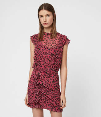 AllSaints Hali Roar Dress