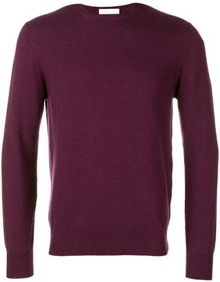 Cruciani long-sleeve fitted sweater