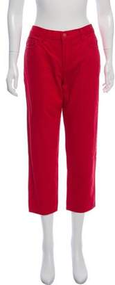 Simone Rocha x J Brand Mid-Rise Cropped Jeans