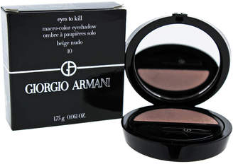 Giorgio Armani 0.061Oz #10 Beige Nudo Eyes To Kill Macro-Color Eyeshadow