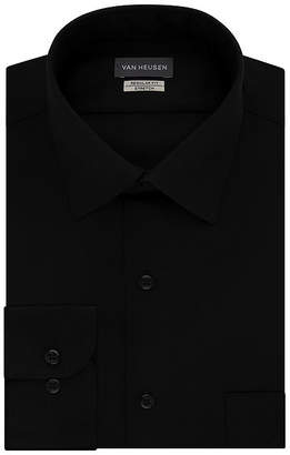 Van Heusen Lux Sateen Big and Tall Stretch Long Sleeve Dress Shirt