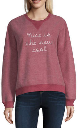 Freeze Nice is the New Cool Sweatshirt - Juniors