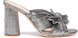 Loeffler Randall Penny Pleated Knot Mules