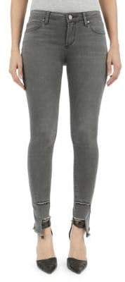 Articles of Society Carly Lincoln Step Hem Skinny Jeans