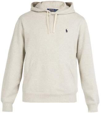 Polo Ralph Lauren Fleece Back Cotton Jersey Hooded Sweatshirt - Mens - Grey